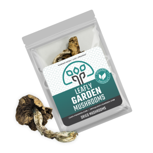 Leafly Garden Mushrooms Package Dried 1